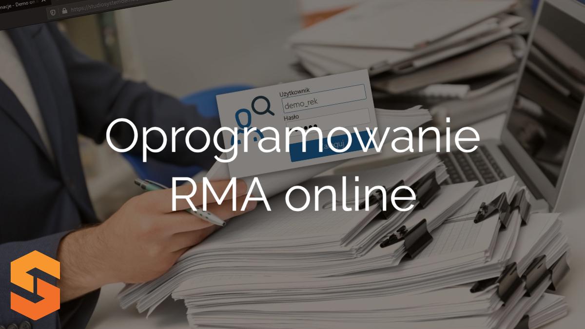 Oprogramowanie RMA online