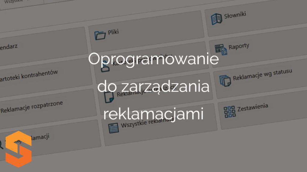 oprogramowanie do zarządzania reklamacjami