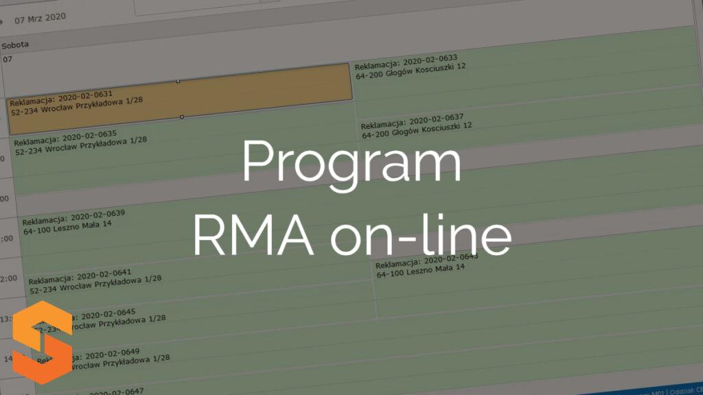 Program RMA on-line