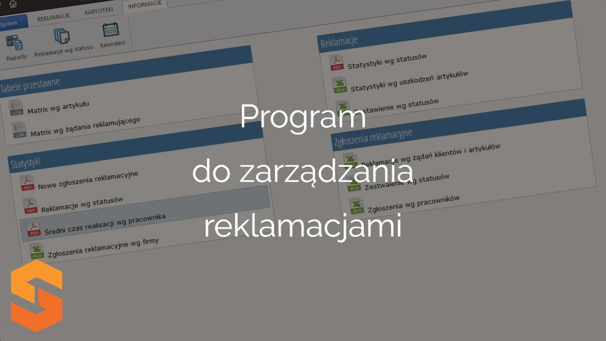 program do zarządzania reklamacjami