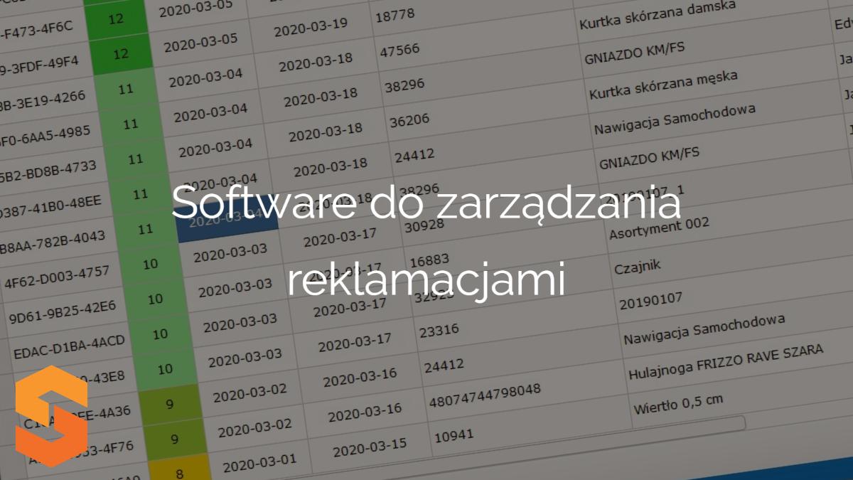 Software do zarządzania reklamacjami