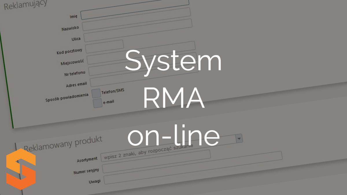 System RMA on-line