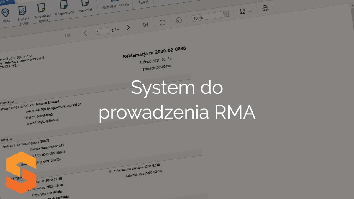 System do prowadzenia RMA